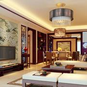 中式风格客厅沙发设计