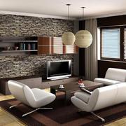 简欧风格客厅地板装饰