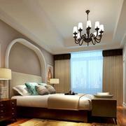 欧式简约风格卧室背景墙设计