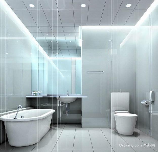 120平米三室二厅家用欧式卫生间隔断装修效果图欣赏大全
