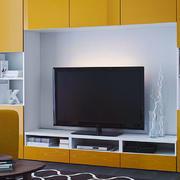 韩式清新电视背景墙