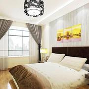 简约风格卧室中式灯饰设计