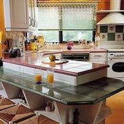 简约风格厨房吧台装修