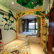 美式风格清新儿童房装饰