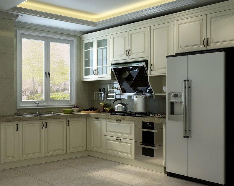 谁看了都要称赞:为您设计的大户型欧式厨房橱柜装修效果图鉴赏大全