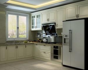 欧式整体厨房设计
