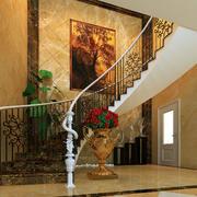 欧式别墅旋转楼梯设计