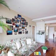 欧式田园风格照片墙装饰