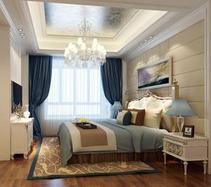 高贵的生活:大户型经典简欧风格卧室装修效果图欣赏大全