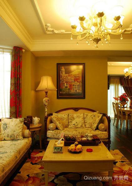 富有奢侈与贵气北美风格的跃层式家庭装修效果图大全