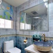 小户型卫生间背景墙设计