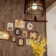 美式复古餐厅创意灯饰效果图