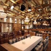 混搭风格咖啡厅灯饰设计