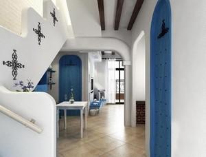 如梦如幻的地中海风格家居餐厅装修效果图片