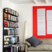 现代简约风格书房效果图