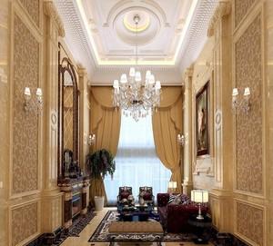 别墅欧式奢华吊顶设计