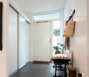 整洁设计:2015全新简约入户玄关柜装修效果图