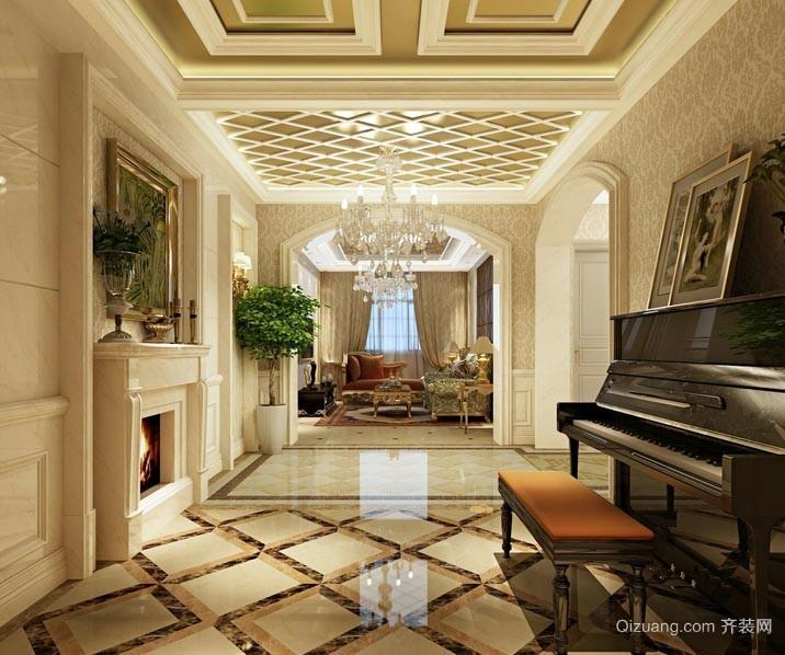 超级奢华的别墅欧式吊顶装修效果图