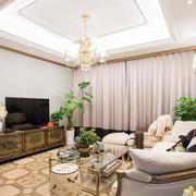 三室一厅简约风格客厅装饰