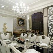 欧式奢华风格桌椅装饰