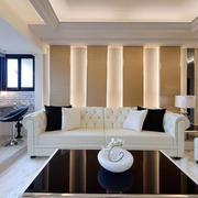 后现代风格内软装沙发效果图