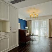 小户型客厅欧式整体橱柜设计