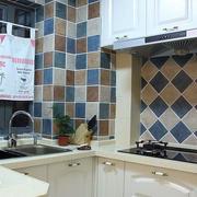 地中海风格U型厨房装饰