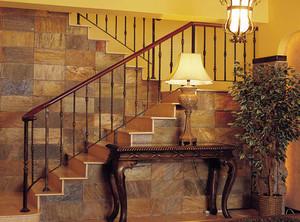 名门望族中的别墅型楼梯踏步板装修效果图实例鉴赏大全