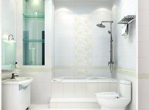 70平米小户型欧式马可波罗瓷砖卫生间装修效果图欣赏大全