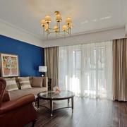小户型美式简约风格客厅飘窗设计