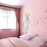 简约粉色卧室装饰
