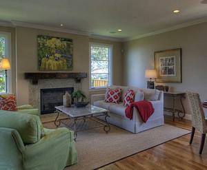 后现代风格简约客厅装修