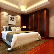 中式卧室地板装饰