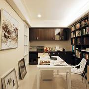 三室一厅小型书房设计