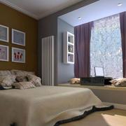 卧室简约风格阳台榻榻米装饰