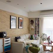 公寓简约风格吊顶效果图