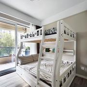 美式儿童房木制地板设计