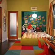 欧式色彩绚丽儿童房效果图