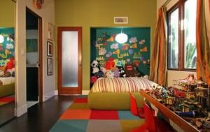 孩子们的天堂:现代混搭时尚的儿童房装修效果图