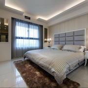 内软装卧室床饰装修