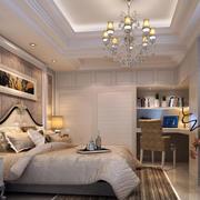卧室卧室嵌入式桌椅装修