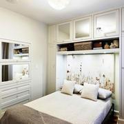 日式卧室榻榻米床头背景墙