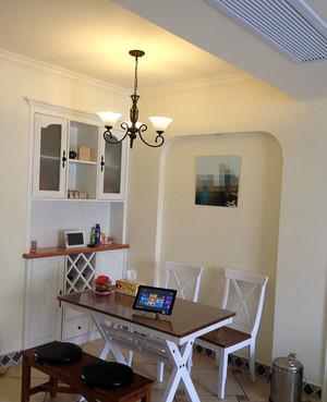 舒适的用餐地:城市大户型地中海风格餐厅装修效果图欣赏大全