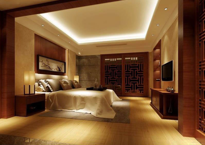 历史的传承 中式风格卧室装修效果图一览