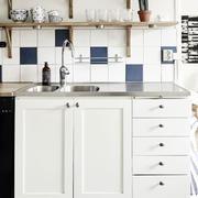 北欧风格公寓开放式厨房设计