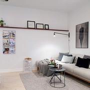 后现代风格简约客厅地板装修