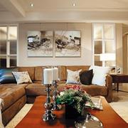 三室一厅客厅背景墙设计