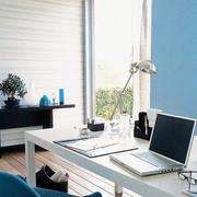 后现代风格家居书房桌椅