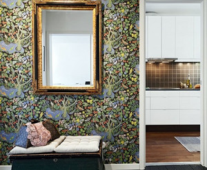 70平米白花色紧凑两室一厅公寓装修效果图