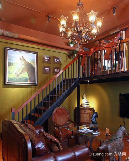 极具特色的东南亚风格楼梯装修效果图大全